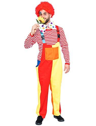 Deiters Latzhose Herren Clown farbenfroh Größe: 4XL/5XL