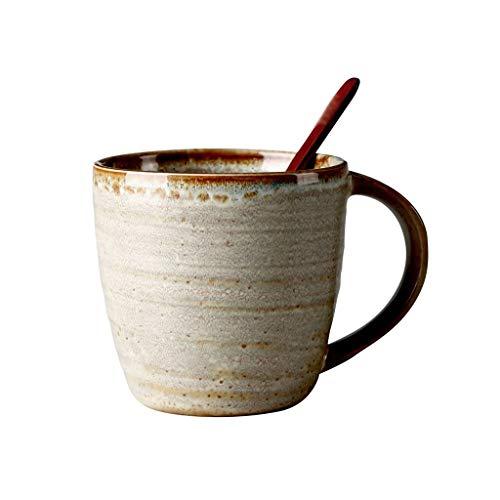 zlw-shop Taza de café Taza de cerámica japoneses Personalizados Copa de Oficina Retro del hogar Taza de Agua de Gran Capacidad de la Taza de café Taza de Porcelana