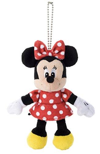 ディズニー スタンダード ボールチェーン付 ミニーマウス ぬいぐるみ 高さ 14.5cm