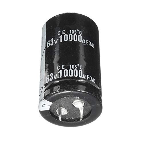 Condensadores 63V 10000uF 105  Alta Frecuencia Temperatura del Condensador electrolítico de 30 mm x 50 mm 5pcs Long Life