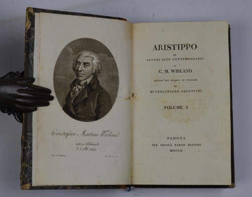 Aristippo ed alcuni suoi contemporanei. Recato dal tedesco in italiano da Michelangelo Arcontini.