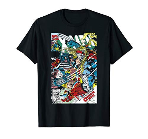 Marvel Omega Red Comic Book Cover T-Shirt