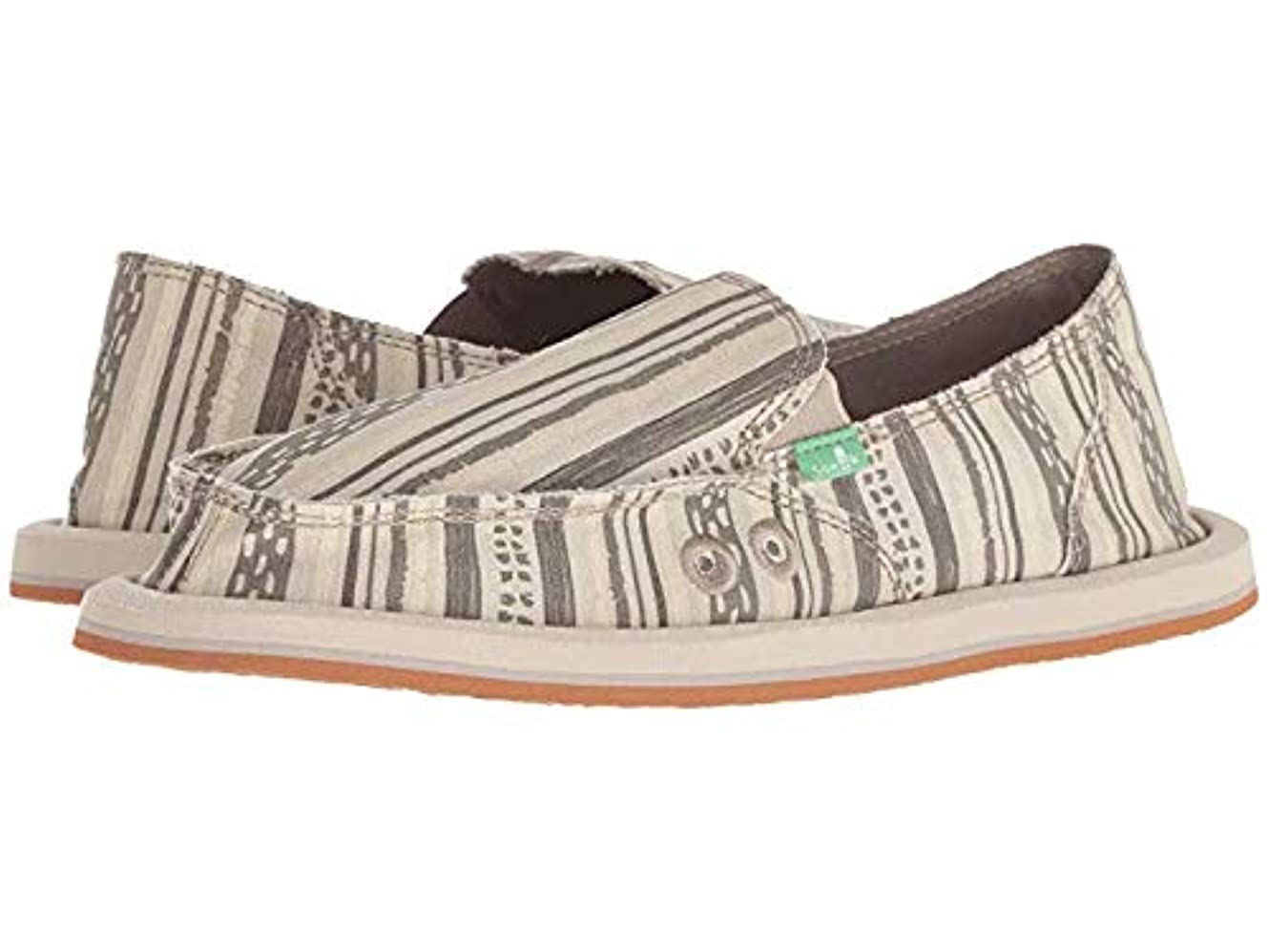 リーン虎マスクレディースローファー?靴 Donna Keys Ranch Keys Ranch Natural (22cm) B - Medium [並行輸入品]