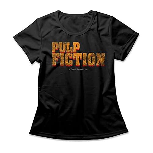 Camiseta Feminina Pulp Fiction Logo