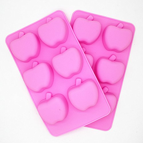 High Quality Apple Shape Silicone Cake Mould, Cake Decoration, Chocolate Baking Mould for parties