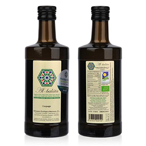 Aceite de Oliva Virgen Extra Premium, Ecológico y Orgánico