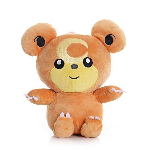 Weilaijaiju 1 unids 23 cm Teddiursa juguetes de peluche muñecas kawaii Teddiursa colgante clip suave peluche muñeca regalos para niños