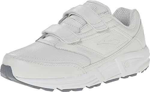 Brooks Damen Addiction Walker V-Strap Walkingschuhe, Weiß (White 111), 43 EU
