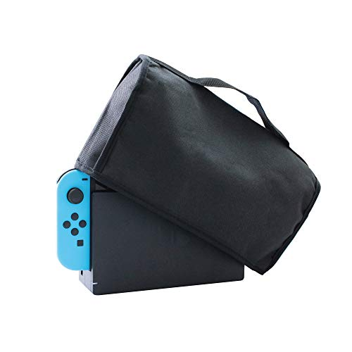 ALLONE dust cover, Easy installation, dust prevention, designed black, Nintendo Switch, for dock