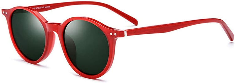 Fashion Polarized Sunglasses Men and Women Retro Glasses Round Sunglasses UV Predection Sunglasses