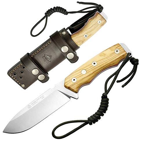 Puma 307512 IP Jagd-/Outdoormesser Savage Olive Messer, Silber, normal