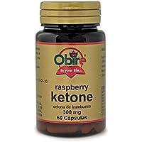 Ketonas de frambuesa 300 mg. 60 capsulas