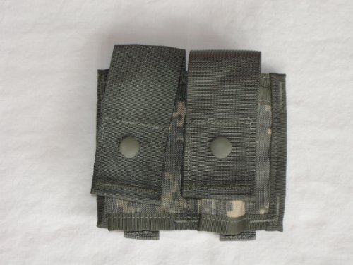 Specialty Defense Systems US Military MOLLE II 40MM High Explosive Single Pouch, ACU