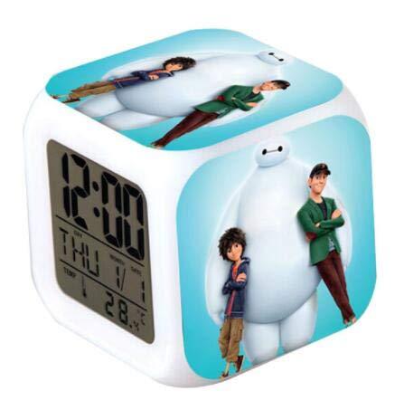 Yyoutop Wecker Film LED Weckuhr Wecker Uhr Uhr Digital Children Toys