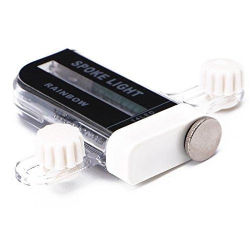 Lergo 14 LED-Fahrrad-Signal, Speichenlicht, 30 Änderungen für Motorrad, Radfahren