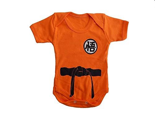 Body Bebê Goku Dragon Ball