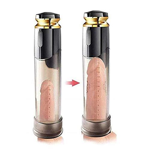 JZZLI T-Shirt Mann Automatische Penisvergrößerung Pumpe 2 in 1 Pennis Wasserpumpe Smart-Silent-Design Stärke Penis-Tool erweitern