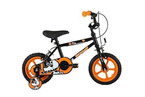 Sonic Scamp kids 12 inch wheel Bike Black