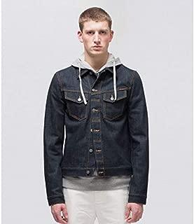 [ヌーディージーンズ] メンズ Kenny Dry Ecru Embo (49161-5013) デニムジャケット レギュラー フィット デニム