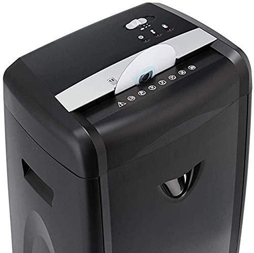 Trituradora, de alta seguridad Micro-Cut Trituradora, 7-Hoja de Cross-Cut Trituradora de papel, asegúrese de que su privacidad es No en peligro,