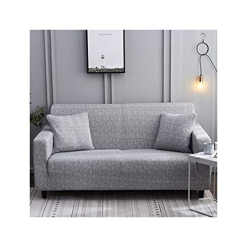 HGblossom Gestreifte gedruckte Sofabezüge für Wohnzimmer-Moderne dreisitzige elastische Schonbezüge des Sofas Farbe 12 1-Sitzer 90-140Cm