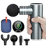 Mini Massage Gun, Sportneer Deep Tissue Muscle Percussion Massager Gun,Pocket-Size Electric Neck and Back Massager for Pain Relief Therapy and Relaxation,Tiny and Quiet Portable Massager,Only 1.1lbs