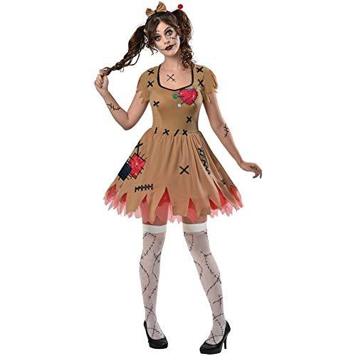 Amscan Voodoo-Puppe, für Erwachsene, Halloween, Zombie-Kostüm
