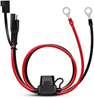 Save on Nilight 50037R 12FT Cable DC Extension Cord 16AWG 2 Pin Wire Harness with 12V-24V Quick Connect/Disconnect SAE...