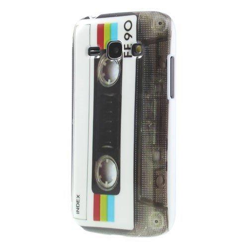 TPU / Coque Samsung Galaxy Ace 3 LTE / GT-S7275 cassette de musique de CASSETTE de protection couverture arrière de cas de Shell de cru