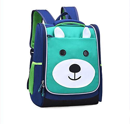 Tas voor kinderen, kwaliteit cartoon, schattige prinses, schoudertas, lichtblauw