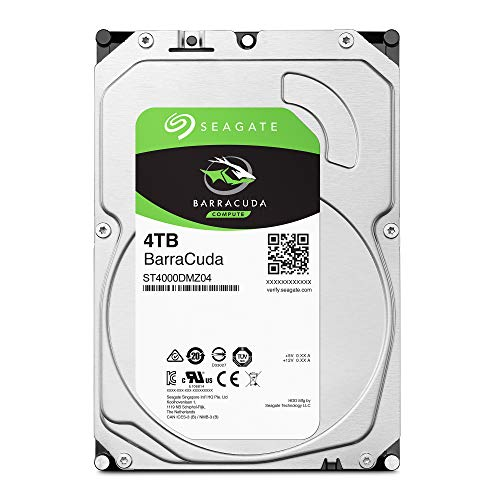 Seagate BarraCuda 4 TB HDD