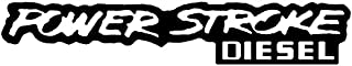 Powerstroke Diesel Decal Sticker - Peel and Stick Sticker Graphic - - Auto, Wall, Laptop, Cell, Truck Sticker for Windows, Cars, Trucks
