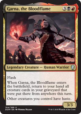Garna, The Bloodflame - Dominaria