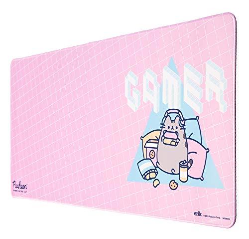 Erik® Mousepad XXL Pusheen, für Laptop, Computer und PC