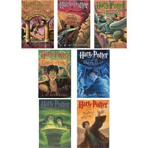 J.k. Rowling Harry Potter Set (Books 1-7)-no Box- May Be Paperback or Hardcover. by Scholastic Press