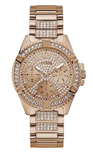 Guess Damen-Uhren Analog Quarz One Size Rosé 87953637