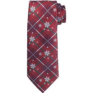 KissTies Mens Holiday Tie Dressing Necktie + Gift Box
