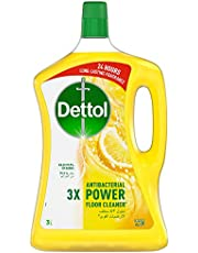 Dettol Lemon Antibacterial Power Floor Cleaner 3L
