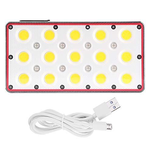 Pinsofy Luces de Trabajo LED, luz de Emergencia, luz de inundación Impermeable para iluminación Interior y Exterior