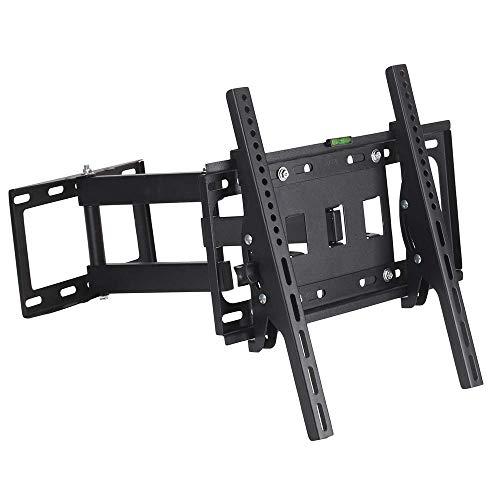 Soporte de Pared para TV Giratorio e inclinable para televisores de Pantalla Plana LCD LED de 26'-55' Soporte para TV de Alta Resistencia hasta 30 kg para Dormitorio