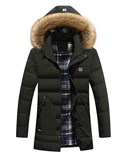 XASY verwarmde jas, verwarmde softshell verwarmingsjas, waterdicht, winddicht, warm, zwart, winterjas met accu en oplader voor outdoor, werken en dagelijks dragen