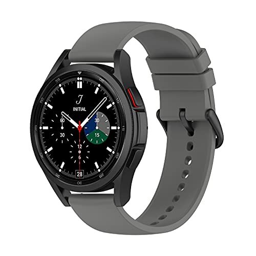 Diruite Pulsera compatible con Samsung Galaxy Watch 4 40 mm/44 mm y Galaxy Watch 4 Classic 42 mm/46 mm, correa de silicona suave, correa deportiva de repuesto para Samsung Galaxy Watch 4,