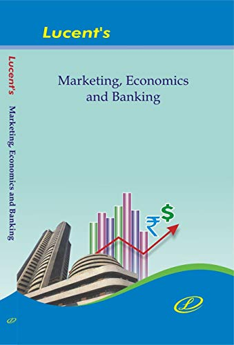 Lucent's Marketing, Economics & Banking Book for all competitive Examinations in English