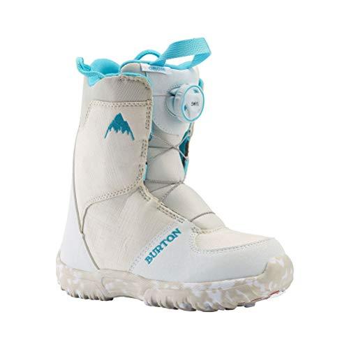 Burton Grom BOA Snowboard Boots Kid's Sz 2K White