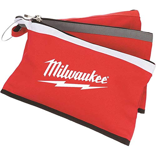 Milwaukee 48-22-8193 12 in. Zipper Tool Bag in Multi-Color - pack of 3