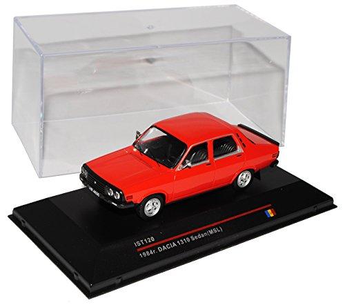 Ixo Dacia 1310 1984 Rot Limousine ist120 1/43 Modell Auto Modellauto