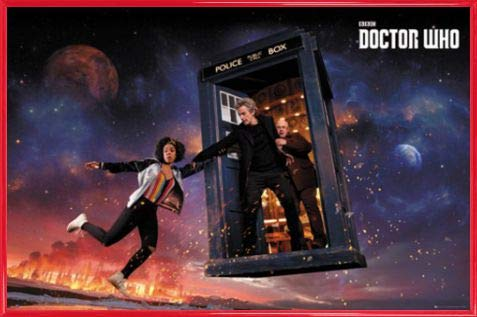 1art1 Doctor Who Póster con Marco (Plástico) - Season 10 Iconic (91 x 61cm)