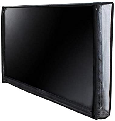 Lithara PVC Waterproof LED TV Cover for Sony KLV-32R412D 32 Inch (Transparent, Standard Size)