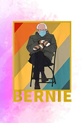 Funny Bernie Sanders Mittens Sitting Inauguration Meme Cute Vitamin & Supplements Tracker