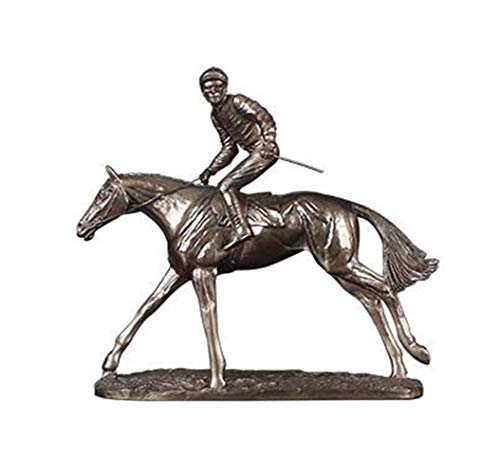 ETH Europäische Retro Kupfer Stehend Ritter Reiten Ornamente Wohnzimmer Fernsehschrank Dekoration Handwerk Kreative Einfache Persönlichkeit seltsam